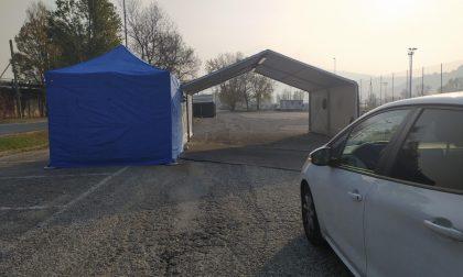 """Tamponi al Bione: operativo da venerdì 13 il """"drive through"""" di Lecco"""