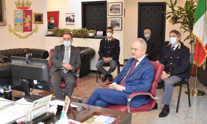 La Questura di Lecco celebra il 25esimo anniversario di fondazione: l'omaggio del Capo della Polizia Gabrielli FOTO E OPERAZIONI STORICHE