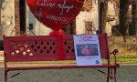 Una panchina rossa per dire basta alla violenza contro le donne