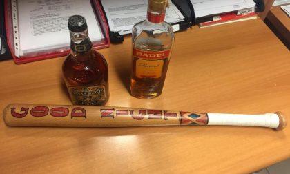 Notte di Halloween: sequestrati alcolici e una mazza da baseball