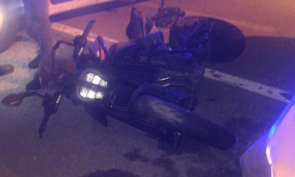 Grave incidente sulla provinciale, ferito motociclista FOTO E VIDEO