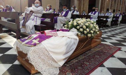Celebrati in basilica a Lecco i funerali di monsignor Giuseppe Longhi