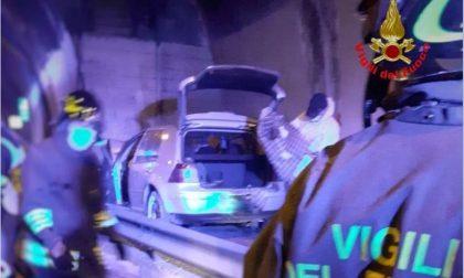 Doppio incidente in Statale 36: 56enne si schianta in galleria e muore FOTO