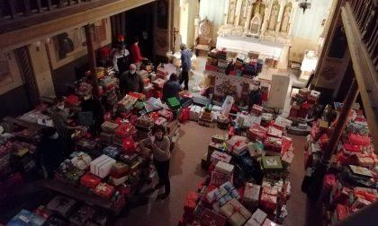 Le piccole Scatole di Natale svelano il grande cuore dei lecchesi FOTO