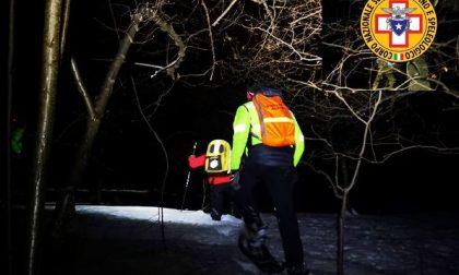 Salvati dopo otto ore gli escursionisti travolti da una Valanga in Grignetta