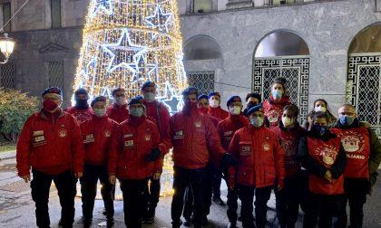 Il presidente nazionale e fondatore dei City Angels in campo con gli angeli di Lecco Foto