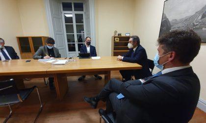Visita a sorpresa del Governatore Fontana alla redazione del Giornale di Lecco FOTO