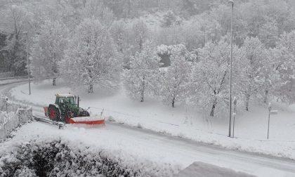 Emergenza neve, strade monitorate e Vigili del Fuoco in azione