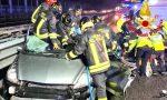 Grave incidente in Tangenziale Ovest, sei persone coinvolte: morta la madre, il padre e uno dei 3 figli