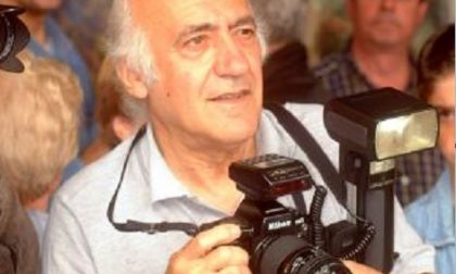 L'ultimo click di Mario Marai, storico fotografo del Giornale di Lecco. Se ne è andato un pezzo di storia della città