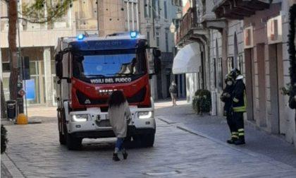 Odore di gas in centro: intervento dei Vigili del Fuoco