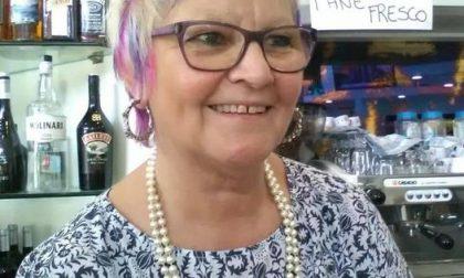Cisano piange la storica barista Fanny Brembilla