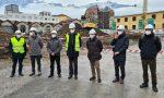 Iniziati i lavori del nuovo oratorio San Luigi finanziato anche con una eredità da mezzo milione di euro lasciata  alla parrocchia