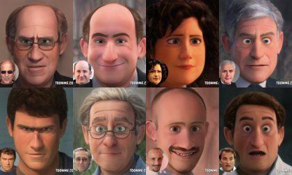 Personaggi famosi di Lecco: come sarebbero in versione cartoon