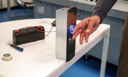 Lecco, Omet ha sviluppato la pulsantiera touchless Daphne Pv