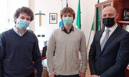 """Gattinoni incontra gli studenti del Manzoni: """"L'attenzione per i nostri ragazzi resta alta"""""""