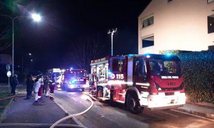 Paura a Malgrate: secondo in incendio in pochi giorni FOTO