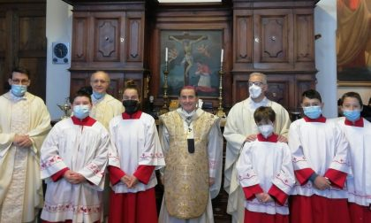 """Monsignor Delpini a Carenno: """"Dio non ci ha abbandonato in questa pandemia"""""""