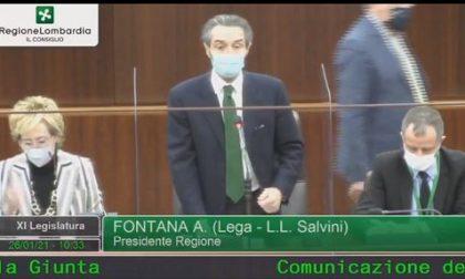 """Lombardia zona rossa, Fontana in Consiglio: """"I nostri dati erano corretti"""""""