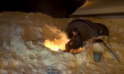 Esperienza... da brivido: dalle Maldive di Milano alla notte in un igloo a - 10 , lo spettacolare video girato in Valsassina
