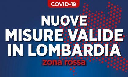 Da oggi Lombardia zona rossa, domani la Regione presenta il ricorso al Tar ma intanto ecco tutte le regole