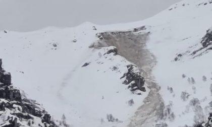 """Distacco nevoso sul Monte Due Mani, il Sindaco: """"Impressionante"""""""