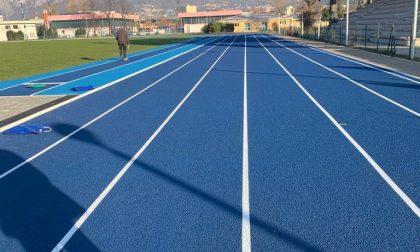 Nuova pista di atletica al centro sportivo Bione