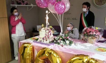 Varenna, auguri speciali per Seta Achijan che compie 100 anni!