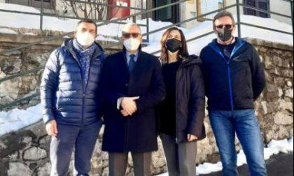 Il Prefetto visita Morterone, il Comune più piccolo d'Italia