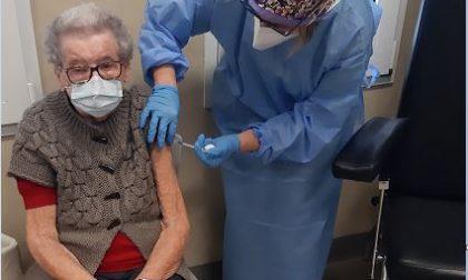Vaccino anti-Covid: 114 over 80 vaccinati nel territorio di Ats Brianza