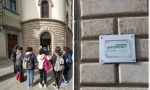 Studenti in visita all'Infopoint di Lecco