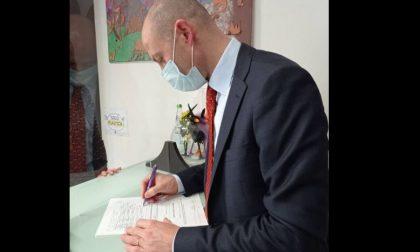 Proposta di legge contro la propaganda fascista, firma anche il sindaco Gattinoni
