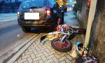 Schianto auto moto: ferito un 18enne