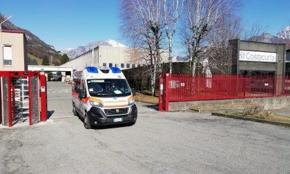 Incidente sul lavoro: 61enne cade da una scala e si ferisce alla testa