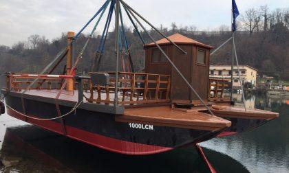 Imbersago: conclusi i lavori di manutenzione del traghetto