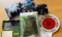 Maxi blitz della Finanza: 10 arrestati e 4 chili  coca e hashish sequestrati. Ultrasettantenni usati come corrieri della droga