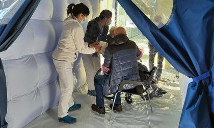 A Villa Serena è arrivata la stanza degli abbracci donata dai pensionati della Cgil
