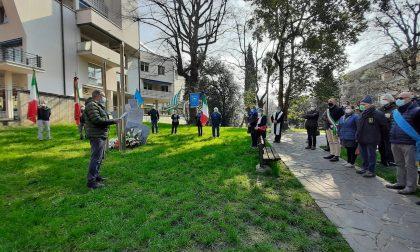 Cerimonia commemorativa per le vittime degli scioperi del 7 marzo 44