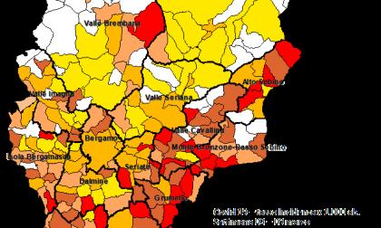 Covid, incremento di casi anche nell'Isola e Valle San Martino: i dati comune per comune