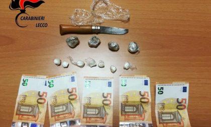 Cocaina e hashish, denunciato 56enne di Colico