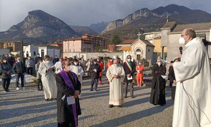 """Giornata vittime del Covid: l'Arcivescovo Delpini in Valle San Martino: """"Sento i vostri morti come miei morti"""""""