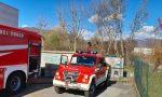 Forte vento sul Lecchese: a fuoco un campo