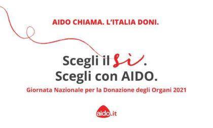 Giornata Nazionale della donazione organi: AIDO chiama, Ruffini risponde!