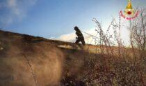Giornata di fuoco: dopo Cornizzolo e Monte Croce fiamme anche sul San Martino