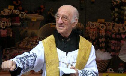 Valle in lutto per la scomparsa di don Alfredo Comi