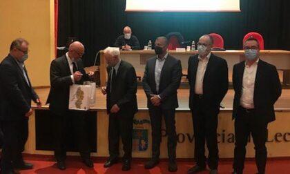 La Provincia di Lecco celebra il quarto di secolo, omaggio al primo presidente Anghileri