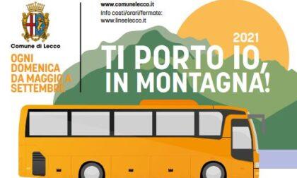 Lecco punta sul turismo in vetta con le navette gratis per Erna, San Martino e Sentiero del Viandante