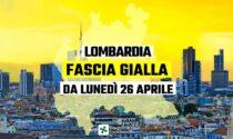 È ufficiale, da lunedì la Lombardia è in zona gialla: ecco cosa cambia