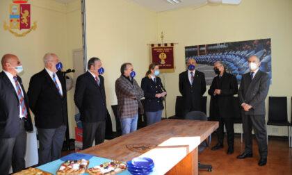 Prefetto e Questore di Lecco  in visita alla sede provinciale di Anps