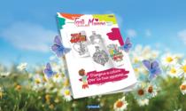 Tanti Auguri Mamma: lunedì 19 in regalo un bellissimo album da colorare